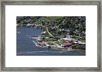 Thomaston, Maine Me Framed Print