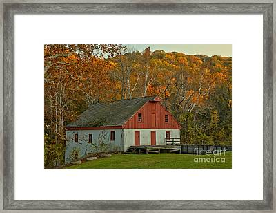 Thompson Neely Grist Mill - Bucks County Pa Framed Print