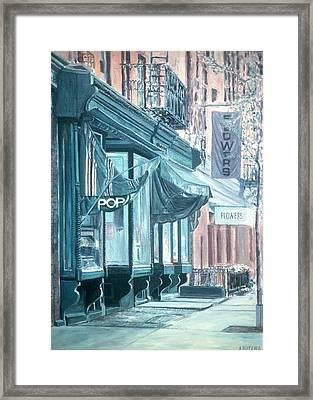 Thompson Street Framed Print by Anthony Butera