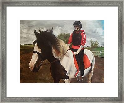 Thompsons Horse Framed Print
