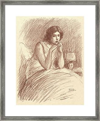 Théophile Alexandre Steinlen Swiss, 1859 - 1923. Morning Framed Print by Litz Collection
