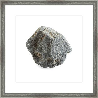 Thorianite Framed Print by Science Photo Library