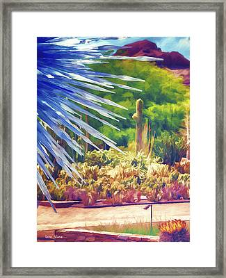 Thorns Of Glass Framed Print