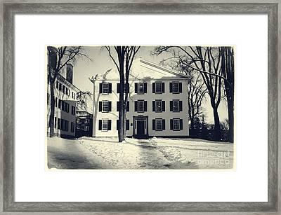 Thornton Hall Dartmouth College Framed Print by Edward Fielding