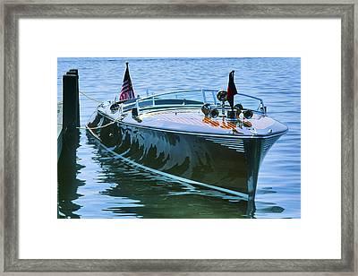 Thoroughbred - Lake Geneva Wisconsin Framed Print by Bruce Thompson
