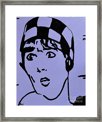 Thoroughly Modern Millie Framed Print