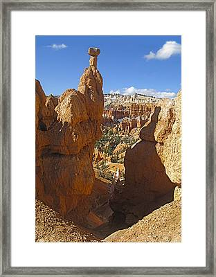 Thor's Hammer At Bryce Framed Print