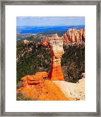 Thors Hammer Bryce Canyon Framed Print by Dan Sproul