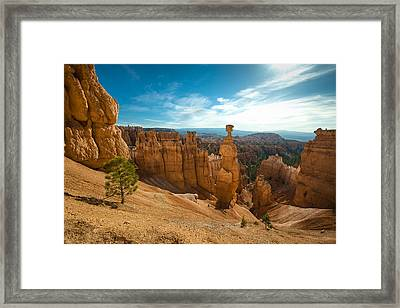 Thors Hammer Framed Print by Phil Abrams