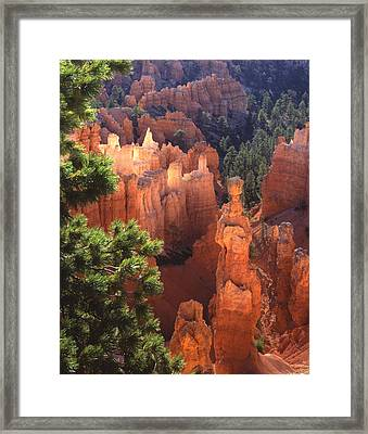 Thor's Hammer Framed Print by Ray Mathis