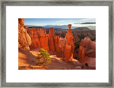 Thors Hammer Framed Print by Rory Wallwork