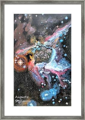 Thor's Helmet Nebula Framed Print by Augusta Stylianou