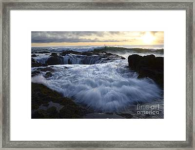 Thors Well 2 Framed Print