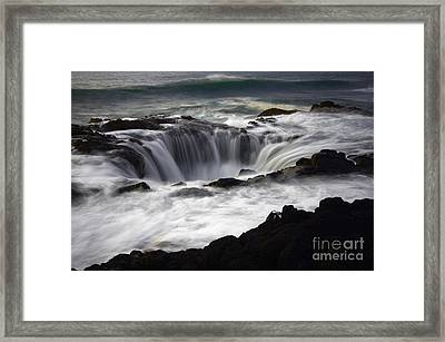 Thors Well Framed Print by Bob Christopher