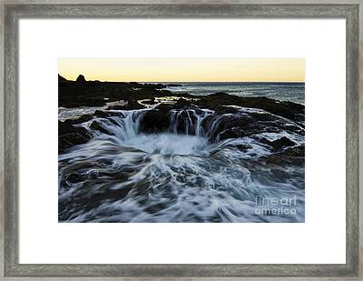 Thors Well Oregon 2 Framed Print