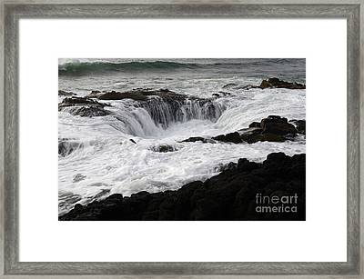 Thors Well Oregon Framed Print