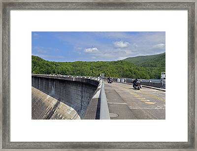Those Dam Motorcycles Framed Print