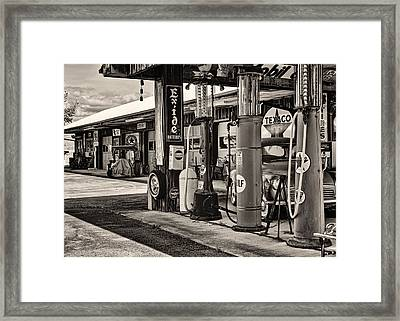 Those Were The Days Framed Print by Heather Applegate