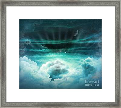 Those Who Have Departed - Celestial Version Framed Print by Bedros Awak