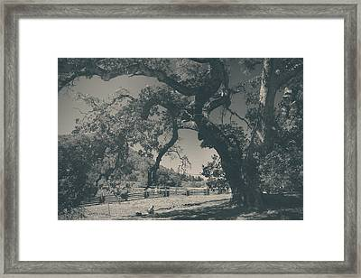 Those Words Touch Me Much Too Deeply Framed Print by Laurie Search
