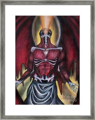 Thoth II  Framed Print by Coriander  Shea