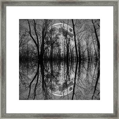 Thought Conjurer  Framed Print by Betsy Knapp