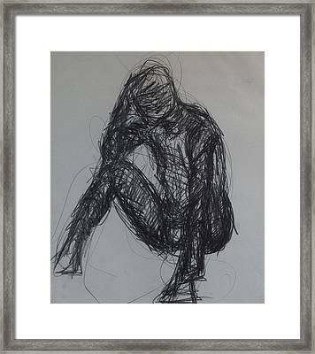 Thought Framed Print by Erika Chamberlin