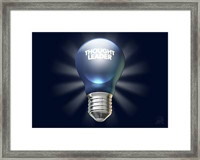 Thought Leader Framed Print by Allan Swart