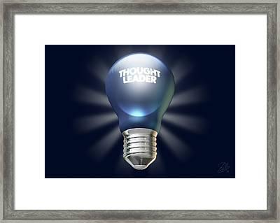 Thought Leader Framed Print