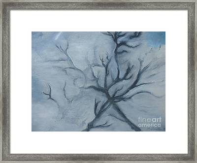Thought Of You Framed Print