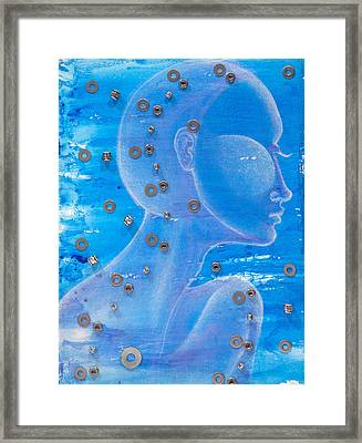 Thought Framed Print by Sheridan Furrer