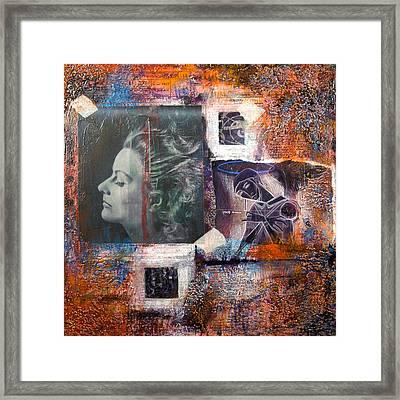 Thoughts 2 Framed Print by Chris Bradley