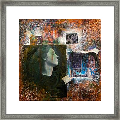 Thoughts Framed Print by Chris Bradley