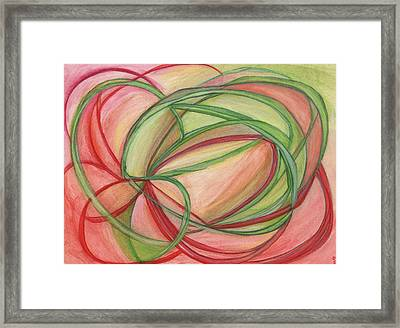 Thoughts Create Framed Print by Kelly K H B