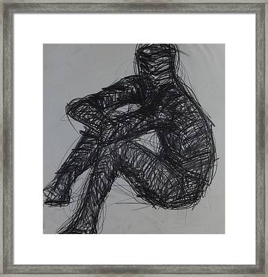 Thoughts Framed Print by Erika Chamberlin