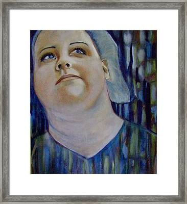 Framed Print featuring the painting Thoughts by Irena Mohr
