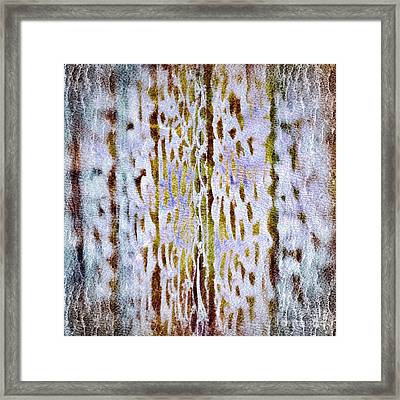 Framed Print featuring the digital art Thoughts Of Afar by Darla Wood