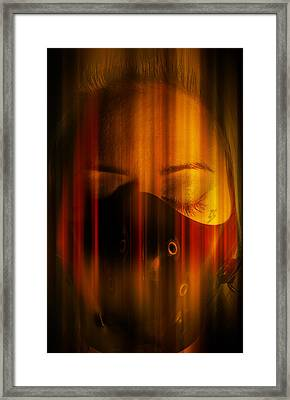 Thoughts Of Fire Framed Print by Nathan Wright