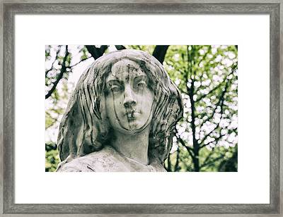 Thoughts Of Serenity Framed Print by Georgia Fowler