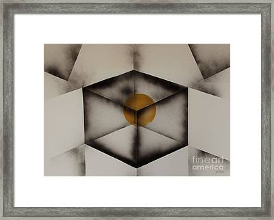 Thoughts Outside The Box. Framed Print by Kenneth Clarke
