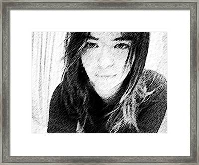 Thoughts  Framed Print by Zinvolle Art