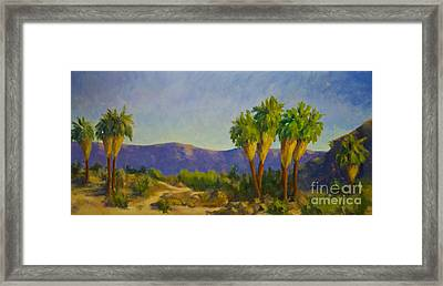 Thousand Palms Preserve Framed Print