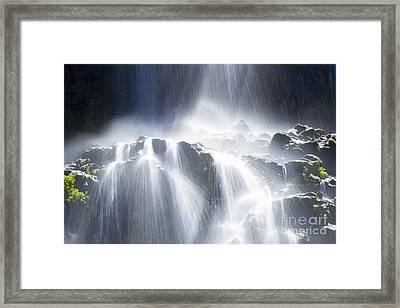 Thousand Springs Framed Print