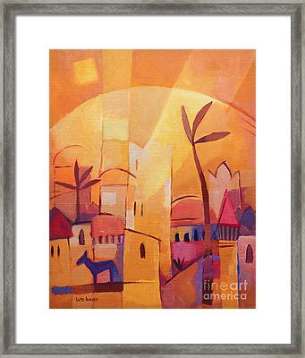 Thousend An One Nights Framed Print