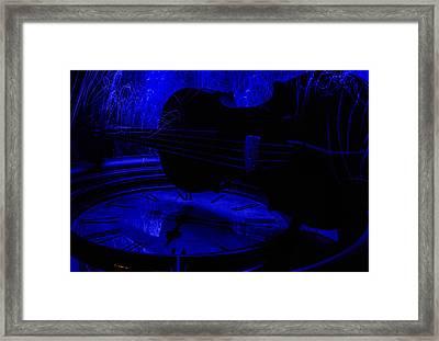 Thr Blues Framed Print