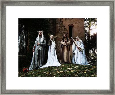 Thranduil From Arda Framed Print by Don  Oscarez