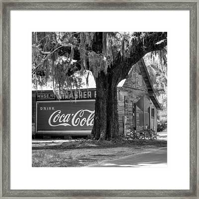 Thrasher Warehouse No. 1 Framed Print by Lynn Palmer