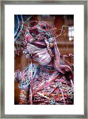 Thread Bare Framed Print by Jez C Self