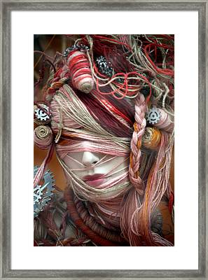 Thread Or Alive Framed Print by Jez C Self