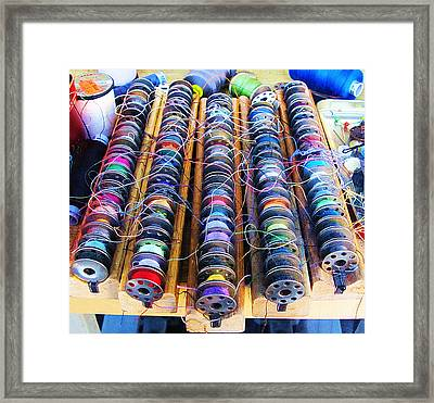 Framed Print featuring the photograph Threads I by John King